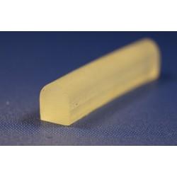 Uszczelka silikon miękki transparent, kopułka 023813-01