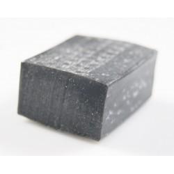 Taśma silikonowa 15x25 mm miękki silikon, czarny  023019