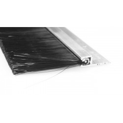 Uszczelka szczotkowa aluminiowa 0,5 m x 45 mm, 01-045-05