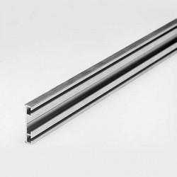 Aluminiowy profil pod uszczelki bram garażowych, 57-590-1M