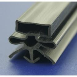 Uszczelka czarna z magnesem do drzwi urządzeń chłodniczych, 32-168