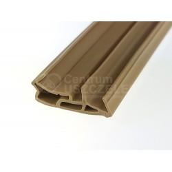 Uszczelka do drzwi zewnętrznych drewnianych, beż 09-155