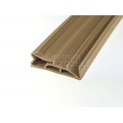 Uszczelka do drzwi zewnętrznych, beż drewnianych 09-185
