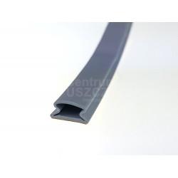 Uszczelka samoprzylepna szara 12x6x10mm, 09-921-01