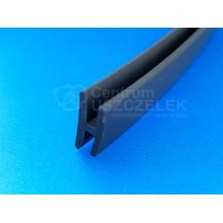 Uszczelka PVC typ H 15/13 na krawędź 2mm antracyt, 026151