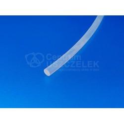 Sznur silikonowy transparentny fi 3 mm lity, 023078