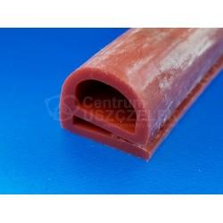 Uszczelka silikonowa czerwona typ e 20x20mm termiczna 023345