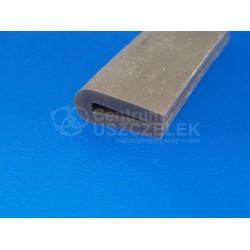Uszczelka silikonowa szara na krawędź 2 mm, 023020-02