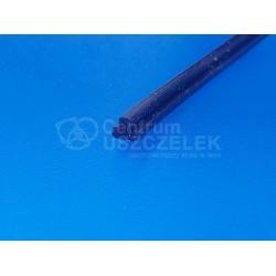 Uszczelka silikonowa niebieska, wciskana, typ T, 023525