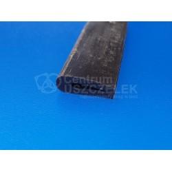 Uszczelka silikonowa czarna na krawędź 2 mm, 023020-03
