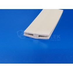 Uszczelka PVC typ H 1-2 mm szara, 12-841-01