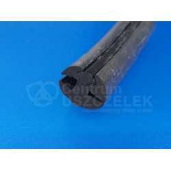 Uszczelka do szyby 14 mm EPDM, 78-018