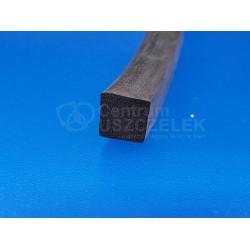 Uszczelka czarna kwadrat 10x10 mm, 12-515-01