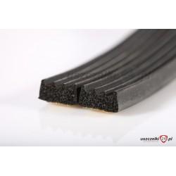 Uszczelka samoprzylepna czarna 12-690-01