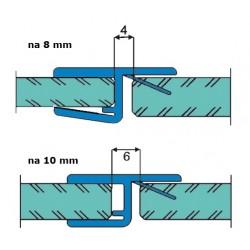 Uszczelka kabiny prysznicowej 8-10  mm, 89-018
