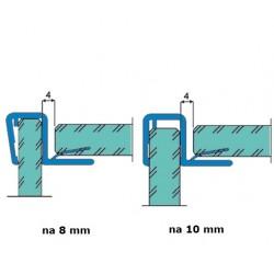 Uszczelka kabiny prysznicowej 8-10 mm, 89-019