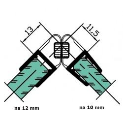 Uszczelka kabiny prysznicowej 10-12 mm z magnesem, 89-031