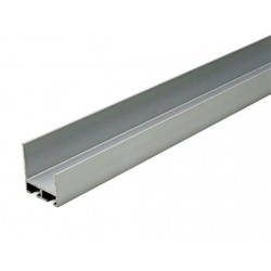 Aluminiowy profil dolny i górny bramy garażowej, 57-585