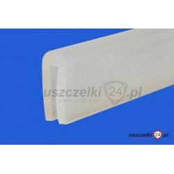 Uszczelka silikonowa transparentna na krawędź 2 mm, 023020
