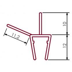 Uszczelka kabiny prysznicowej 4-6 mm, 96-244