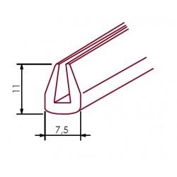 Osłona krawędzi 2,2-3,3 mm przewodów i wiązek elektrycznych, 02-006