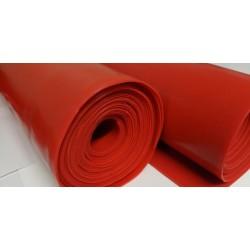 Płyta silikonowa czerwona termiczna, grubość 3 mm, 023103
